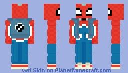 Spider-Punk Minecraft Skin