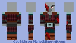 The Undead Pillager - by NitrodeZ - The Abbanoded Mansion Minecraft Skin