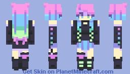distant star Minecraft Skin