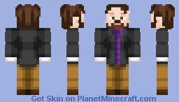 Formally Dressed Gentleman. Minecraft Skin