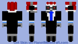 Commentatron Minecraft Skin