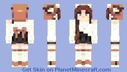 Fox Trotted Minecraft Skin