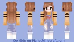 """♥ тєαℓу ♥ """"sunflower baby"""" Minecraft Skin"""