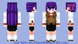 Sakura Matou 間桐 桜  Fate/StayNight Minecraft Skin