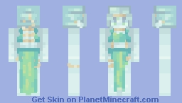 Aquamarine Seas - Entry Minecraft Skin