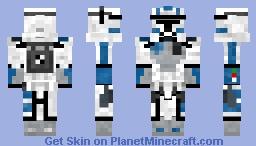 A.R.C. Trooper Echo (CW 2008 Minecraft Skin