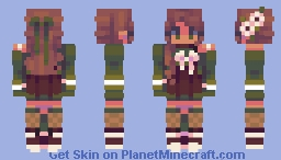 at the city coffee shop Minecraft Skin