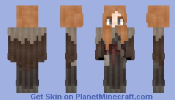 𝓡𝓸𝔃𝒆 || Medieval | Young Viking Fighter Minecraft Skin