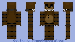 FNAF Custom: ~ Cake-Bear ~ Minecraft skin! Minecraft