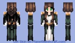 Dragon Empress - Edit of Forest Maiden by ElvenJedi Minecraft Skin