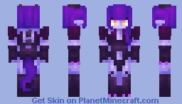 Purple Dragon Minecraft