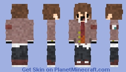 Ethan Chibi DDLC Minecraft Skin