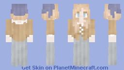 𝓡𝓸𝔃𝒆 || Medieval | French Farmer Girl Minecraft Skin
