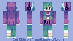 shissou word (looks better in 3d) Minecraft Skin