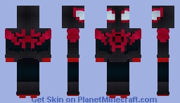 Miles Morales *Into The Spider-Verse* Minecraft Skin
