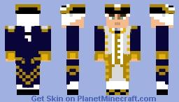 Commodore Norrington Minecraft Skin