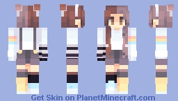 hirari hirari Minecraft Skin