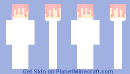 Pink birthday cake - Decor Minecraft Skin