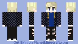 BamBam Never Ever (GOT7) Minecraft Skin