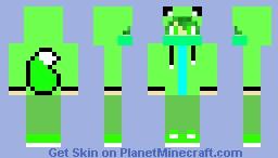 cool wolf gamerboy Minecraft Skin