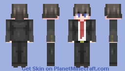 Jin Kirigiri Minecraft Skin