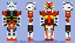 Arios Gundam - GN-007 Minecraft Skin