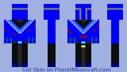 Demitros, DemiTitan of Water (New Skin Series??) Minecraft Skin