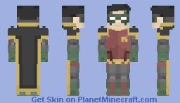 Robin (Damian Wayne) Minecraft Skin