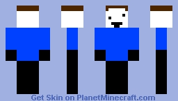 completed noob Minecraft Skin