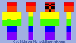 Rambow Dude Minecraft Skin