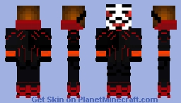 Reinforced RED Hacker.cs  70% C O M P L E T E Minecraft Skin