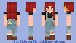 Farmer Red Minecraft Skin