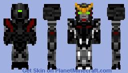 Gundam Deathscythe Hell - XXXG-01D2 Minecraft Skin