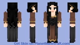 [LotC] Humble Lady Minecraft Skin