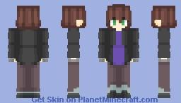 Ashley Campbell | Sally Face Minecraft Skin