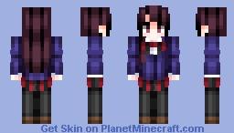Shouko Komi Minecraft Skin