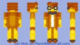 Yellow Human Thing Minecraft Skin