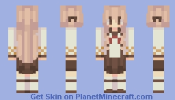 ~Food Fantasy: Taiyaki~ Minecraft Skin
