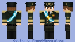 Dictador argentino Minecraft Skin