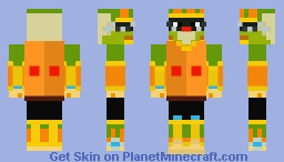 MMX7: Tornado Tonion Minecraft Skin