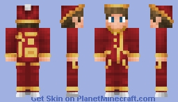 Chinese New Year suit Minecraft Skin