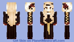 𝓡𝓸𝔃𝒆 || Medieval | Skin Like Porcelein Minecraft Skin