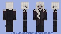 Yolanda Akuron - The Red Eyed Dark Elf Minecraft Skin