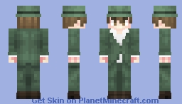 Firo Prochainezo - Baccano! Minecraft Skin