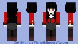 Yumeko Jabami - Kakegurui Minecraft Skin