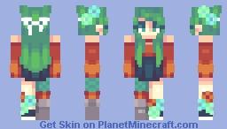 𝕗𝕝𝕠𝕣𝕖𝕤, Minecraft Skin