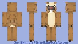 Blasphemous Bidoof Minecraft Skin