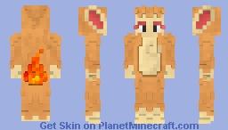 Chimchar Minecraft Skin