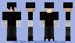 DareDevil Black suit Minecraft Skin