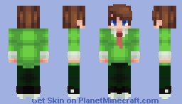 Where are my papers?! Minecraft Skin
